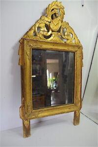 Miroir-de-chambre-ou-d-alcove-en-bois-sculpte-dore-Louis-XVI-XVIII-eme-18th