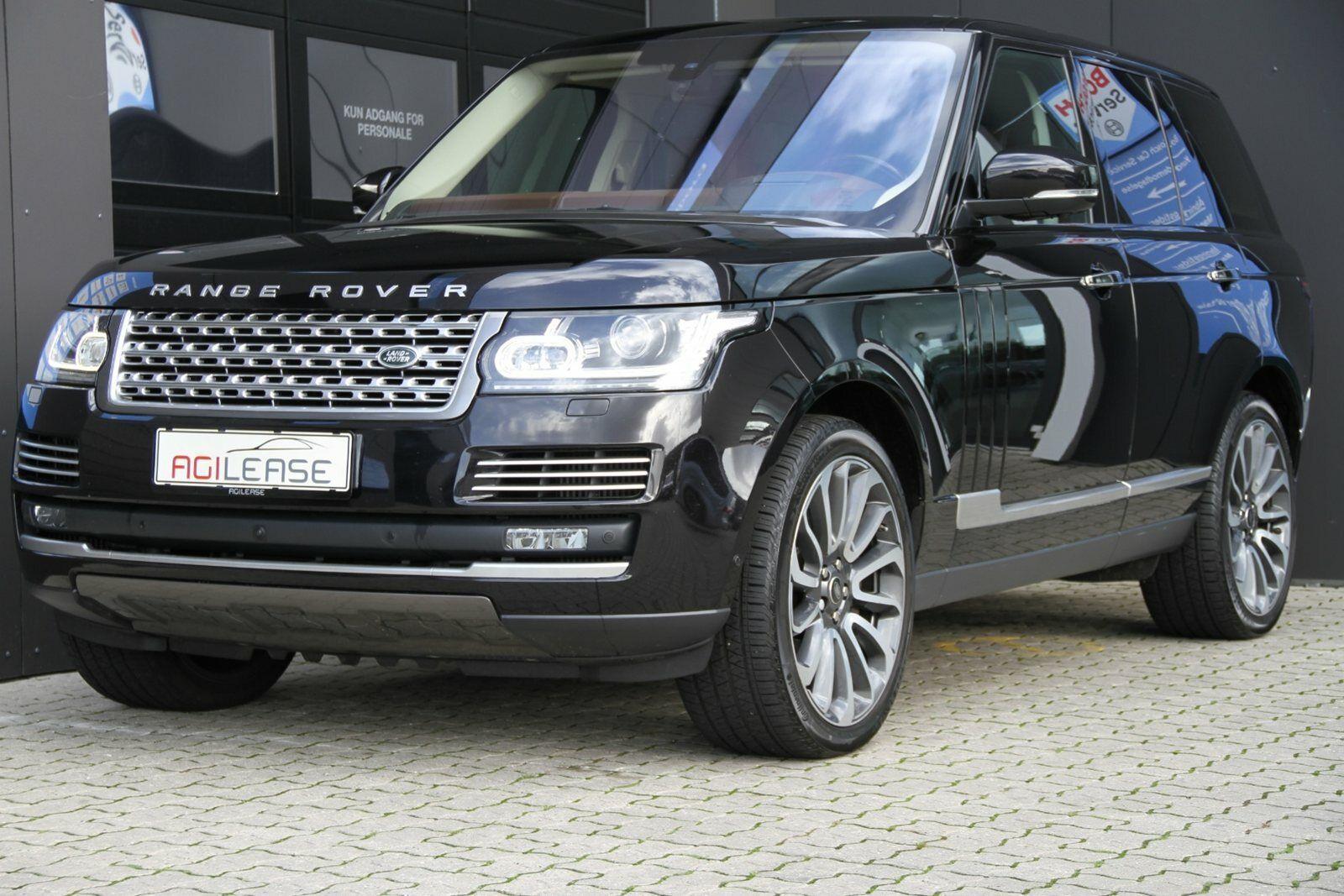Land Rover Range Rover 4,4 SDV8 Autobiography aut. LWB 5d - 8.700 kr.