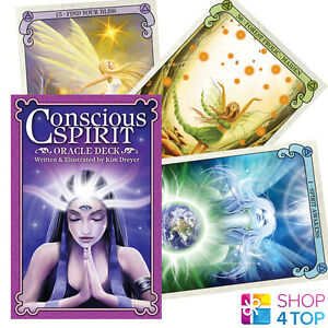 CONSCIOUS-SPIRIT-ORACLE-CARDS-DECK-ESOTERIC-TELLING-KIM-DREYER-NEW