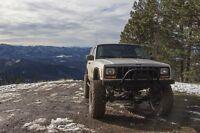 1984-2001 Jeep Cherokee Xj/comanche Front Bull Bar Winch Bumper