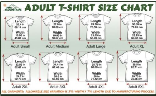 The Mountain Adult Unisex T-Shirt Journey is the Reward Tan Tee S-L-4X NWT.