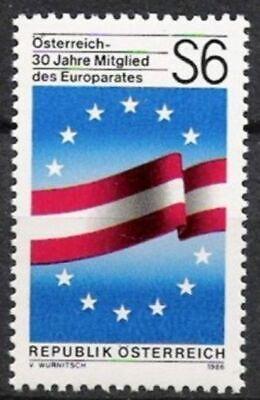 Österreich Nr.1842 ** Europarat 1986, Postfrisch Dauerhafte Modellierung