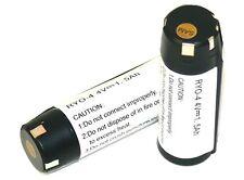 2X Replacement Ryobi TEK4 AP4001 4V Li-on 1.5 ah Battery # 130166010