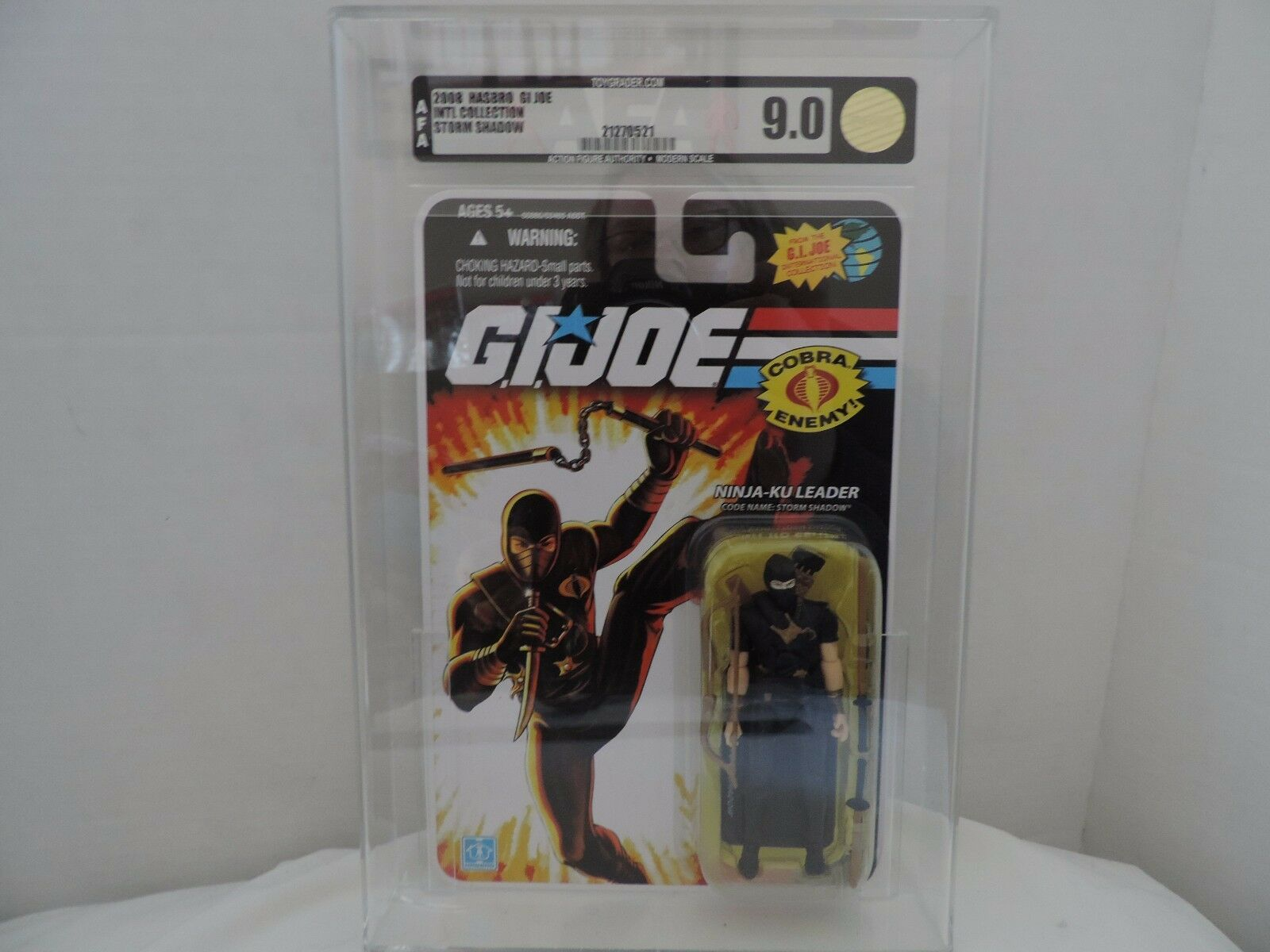 Gi - joe 2008 ninja ku storm shadow action - figur für 90