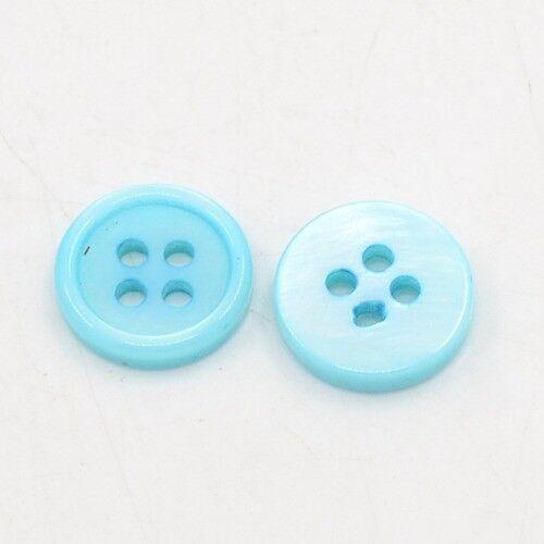 15 Stück Resin Knöpfe Blume Knopf Button Kunststoff Buttons Kinderknopf Bluse