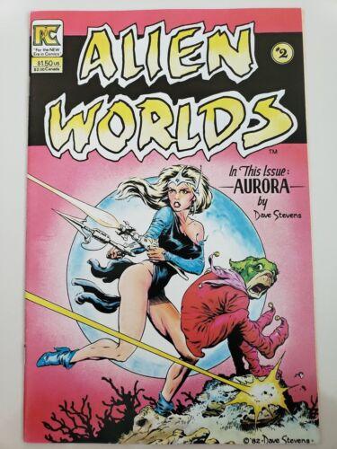 ALIEN WORLDS #2 1982 PACIFIC COMICS 1ST PRINT DAVE STEVENS COVER /& ART!