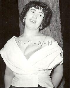 Org Vintage 1940s-60s Semi Nude RP- Super Endowed Woman in