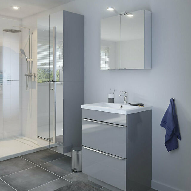 B Q Nira 60cm Imandra Basin Sink Goodhome For Sale Online Ebay