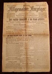 Erfurter-Allgemeiner-Indicador-20-Marz-1915-Historico-Periodico-1-Weltkrieg