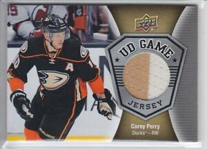 2016-17-UD-SERIES-COREY-PERRY-SP-JERSEY-2C-GAME-USED-GJ-PE-Upper-Deck-GRP-B-Duck