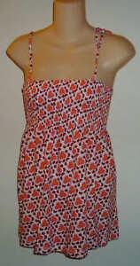 58f01f087 Womens AEROPOSTALE Printed Smock Top Babydoll Shirt Size Medium (M ...