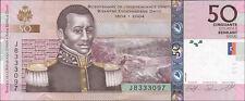 """Haiti 50 Gourdes 2008 """"200 J. Unabhängigkeit"""" Pick 274b (1)"""