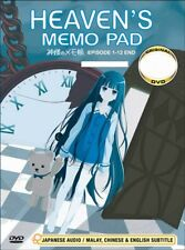 Heavens Memo Pad: Complete Collection (DVD, 2012, 3-Disc Set)