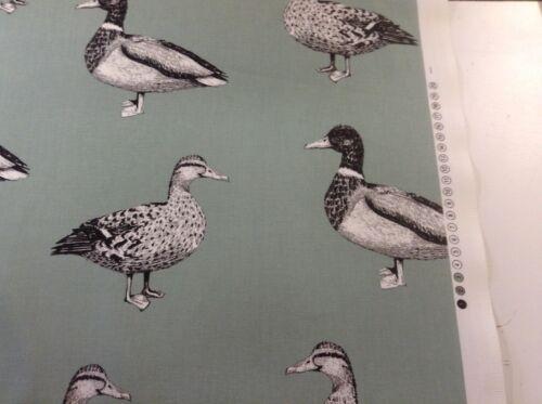 Ducks Egg Shell Cotton Curtain//Craft Fabric
