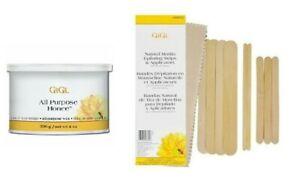 GiGi-All-Purpose-HONEE-8-Oz-Wax-Hair-Remover-Muslin-Epilating-Strips-Applicators
