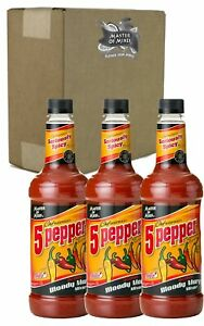 Master Of Mixes 5 Pepper Extra Spicy Bloody Mary Drink Mix Ready To Use 1 L 70491121171 Ebay