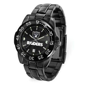 NFL-Oakland-Raiders-Men-Fantom-Watch-Style-XWM3446-97-90