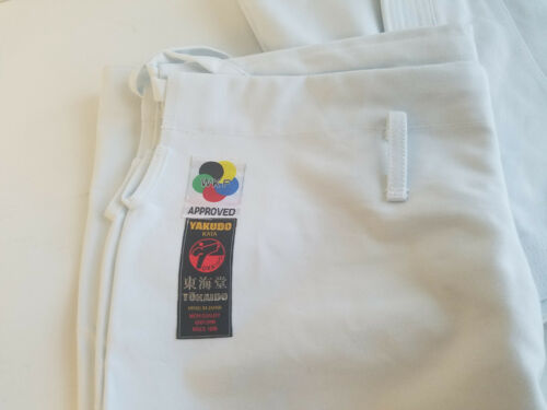 Tokaido Japanese WKF Approved Heavyweight Karate Gi TSA Yakudo