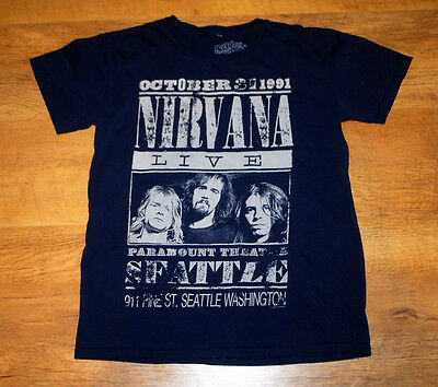 Nirvana 'Paramount Theatre, Seattle 1991' replica t shirt