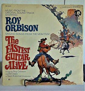 Roy Orbison -The Fastest Guitar Alive- 1967 MGM #SE4475 Rock Vinyl LP - VG/VG+