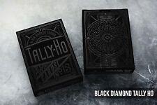 Black Diamond Tally ho Playing Cards Deck Brand New Sealed