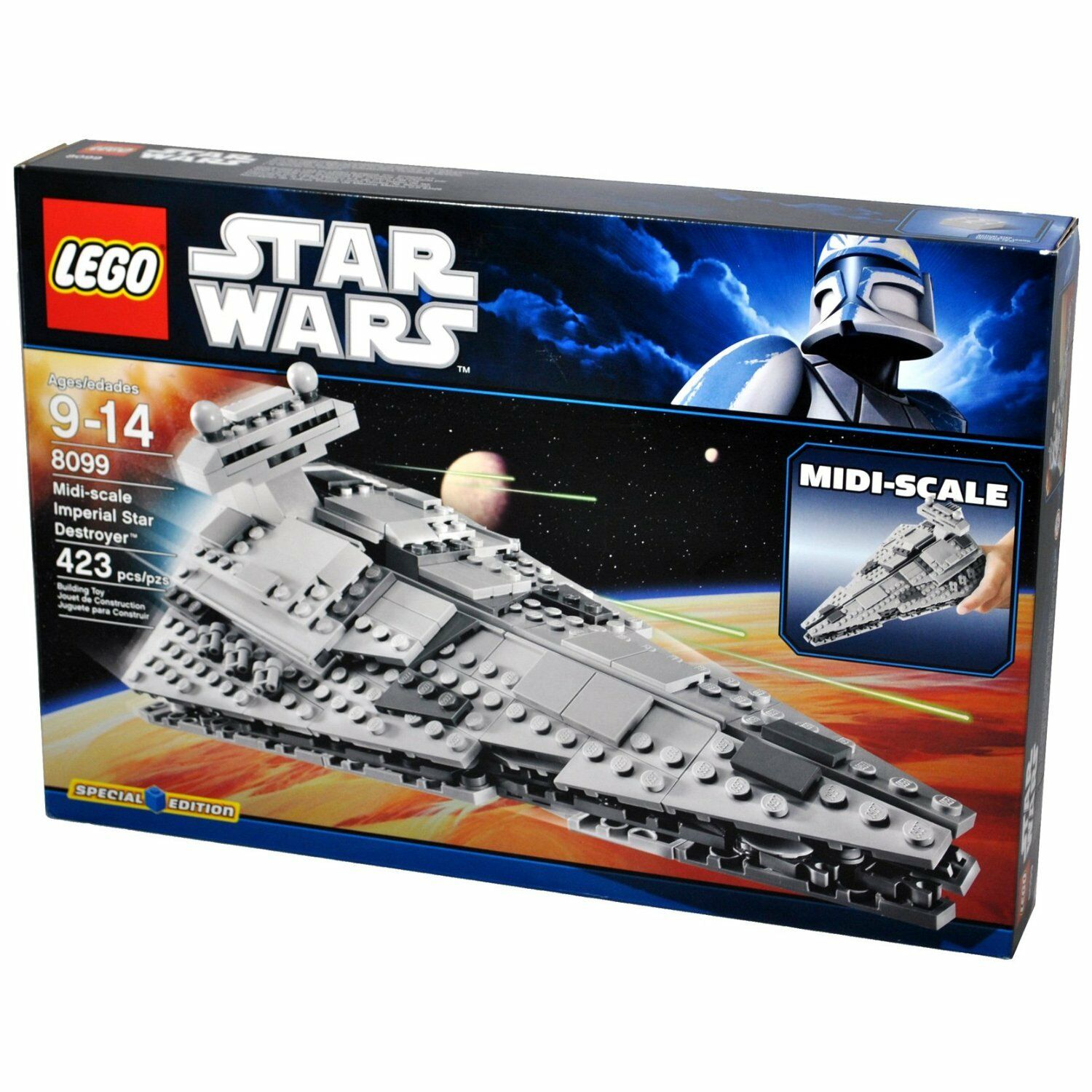 Star Wars LEGO Imperial Star Destroyer   New Factory Sealed Midi-Scale