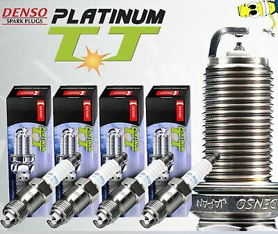 Set of 4 Pack Denso 4504 Spark Plugs Twin Tip Platinum TT OEM# PK20TT