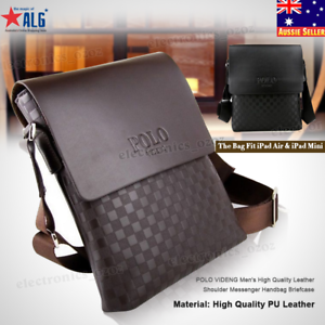 fc3881378c55 POLO VIDENG Men s High Quality Leather Shoulder Messenger Handbag ...