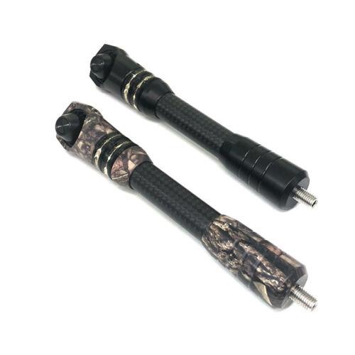 "Camo 8-9/"" Archery Carbon Stabilizer Compound Bow Balance Bar extend Rod Black"