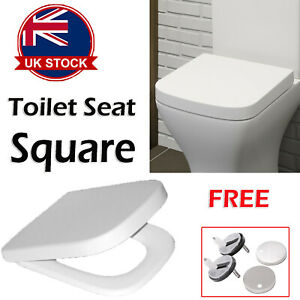 Excellent Details About Rounded Square Shape Soft Close Toilet Seat Top Fixing Quick Release Ugt Onthecornerstone Fun Painted Chair Ideas Images Onthecornerstoneorg