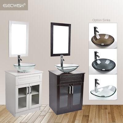 24 White Bathroom Vanity Cabinet W