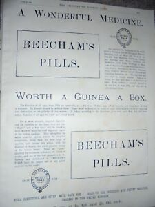A-Wonderful-Medicine-Beecham-039-s-Pills-advert-20-June-1885-ref-AM