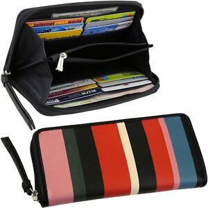 0c9c4b4f7f691 Das Bild wird geladen ESPRIT-Damen-Geldbeutel-Brieftasche-Bunt-Geldtasche -Geldboerse-Portemonnaie-