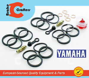 1999 - 2002 YAMAHA YZF-R6 YZF R6 YZF600R6 - FRONT BRAKE CALIPER NEW SEAL KIT
