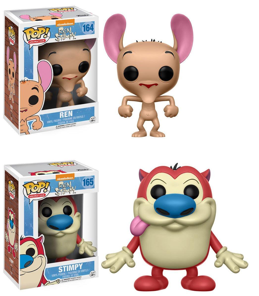 Funko POP  Animation  REN & STIMPY VINYL FIGURE SET  Cartoon Network