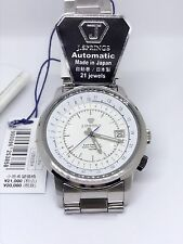 J Springs Mechanical Automatic Mens Stainless Steel Watch Made in Japan BEA010