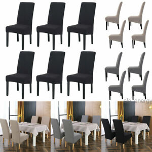 Washable Knit Stretch Chair Slipcovers