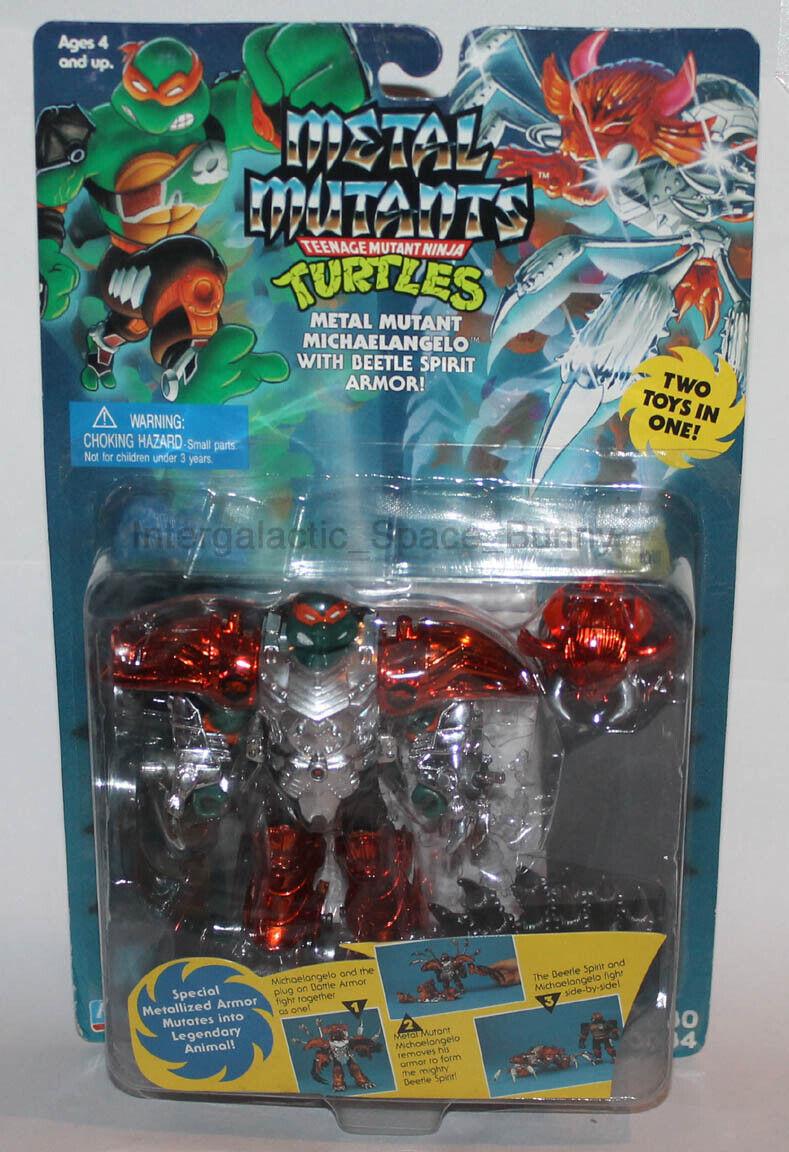 1995 Spielkameraden Teenage Mutant Ninja Turtles Metall Mutanten Michelangelo