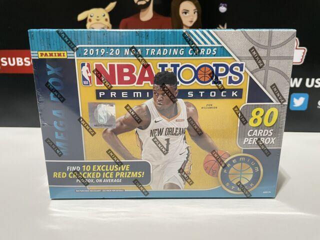 2019-20 NBA Hoops PREMIUM STOCK Blue Mega Box HOT🔥