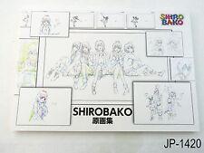 Shirobako Key Art Collection Japanese Artbook Japan Gengashuu Illustration Book