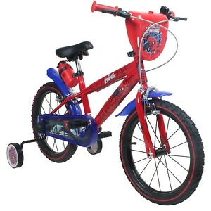 Children S Bicycle 16 Inches Marvel Spiderman Bike For Kids From 4