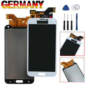 Fuer-Samsung-Galaxy-S5-SM-G900F-i9600-LCD-Display-Glas-Touchscreen-Digitizer-Weiss