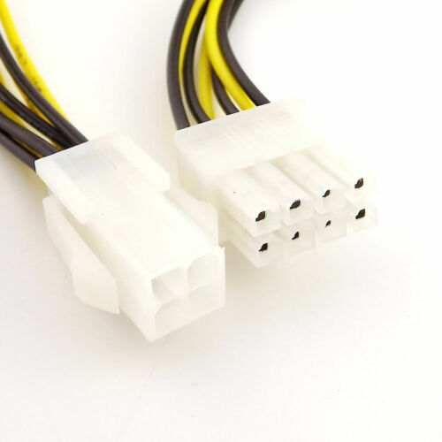 1pcs 4-Pin to 8-Pin 12V ATX Motherboard CPU Power Supply Adapter Converter Cable
