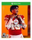 Madden NFL 20 -- Standard Edition (Microsoft Xbox One, 2019)