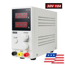 Mini Variable Regulated Adjustable 30v 10a K3010d Dc Power Supply For Lab Fda