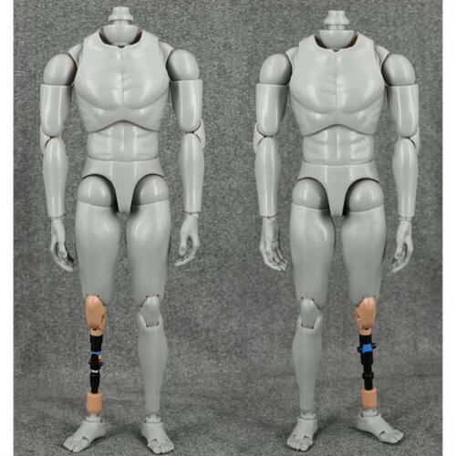 """1//6 Scale Metal Leg Artificial Limb Prosthesis for 12/"""" Action Figure Body"""