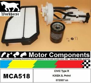FILTER-SERVICE-KIT-for-Honda-CIVIC-Type-R-K20ZA-2L-Petrol-07-2007-on