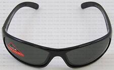 Bolle Anaconda Sport Shiny Black Frame Polarized Smoke TNS Lens Sunglasses 10338