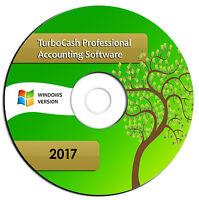 2017 Professional Accounting Software-turbocash Books Alternative-windows Cd