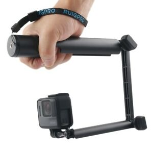 3 Way Monopod Magic Mount Selfie Stick For Gopro Hero5 Session 5 4 3 2 1 Ebay